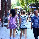 Flanieren auf der Khreshchatyk Straße