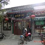 Neighbourhood where there are food stalls for traditional cuisine or snacks