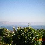 Sea of Gallilee and Golan Heights