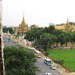 le palais royal vu du 5è