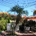 From the hotel garden-terrasse