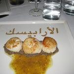 Vieras Arabesque sea scallops