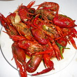 The crawfish were delicious!