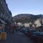 shopping in Mostyn street