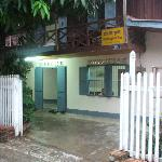 Front of Choumkhong Guesthouse
