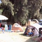Zona camping libre