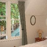 Lots of natural light from original wood-framed windows but heavy drapes ensure a good sleep