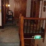 Upstairs hallway & landing