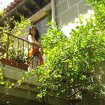 nuestra terraza desde abajo