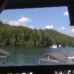 La Prade's View of Lake Burton