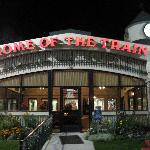 fast-food next door: Dairy Keen, Home of the Train