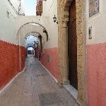 porte d'entrée Dar Alia