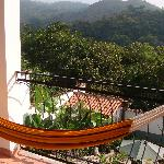 View from my room overlooking Copan valley.