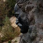 Gibran's bust at the entrance