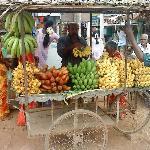 Fruit stall on roadside,Karaikudi