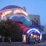 Planet Hollywood restaurant.