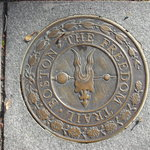 Freedom Trail Sidewalk Emblem