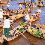 Delta River Floating Market