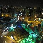 Ausblick Roftop bei Nacht