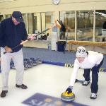 Curling was one of the many highlights
