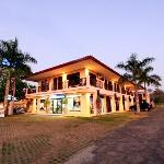 Blue Palm Hotel in Jaco beach