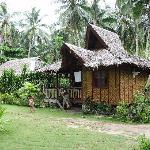 Eines der 8 Hütten im Siargao-Inn