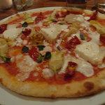The Caprino Pizza (a bit blurry)