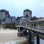 Die Seebrücke in Heringsdorf