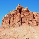 Like Tiramisù — layered siltstone & mudstone (Moenkopi Formation)