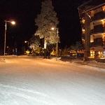 Rue devant hôtel
