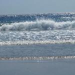 waves of Long beach
