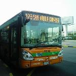 the bus - get this from airport to S.Babila and then change to Red Line Metro to Pasteur