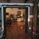 Entrance view quinta el carmen