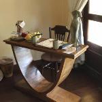 Quirky desk.