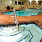 Indoor heated pool, spa & fitness center.  Experience the personal touch.