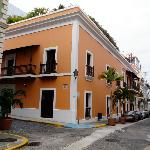 Streets of Old San Juan, kinda reminds you of the French Quarters