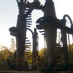 Escaleras. Castillo surrealista de Eduard James. Xilitla, SLP