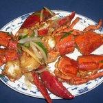 Lobster w. Ginger & Scallion