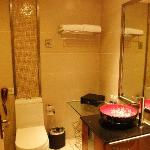 bathroom wif oriental sink