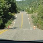 La route jusqu'au Lac Edouard