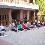 Early Morning Yoga Classes at Suryaa Villa, Jaipur