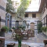 courtyard view from Liwan