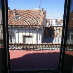 vue sur grand balcon