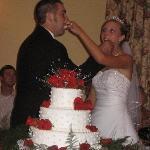 Bridal Couple at the Inn