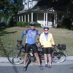 SCT Riders on a bicycle built for two.