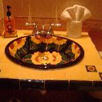 carelage sol et salles de bain typique