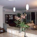 Living room/dining room from kitchen