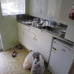 Clean kitchen - microwave, oven, plates, jug all included