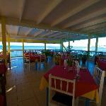 Restaurant mit Meer Sicht