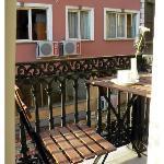 Balcony.